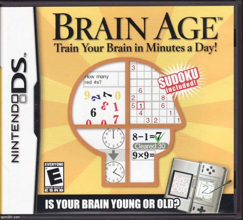 Brain training games neuroplasticity