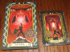 Ultima 9 Tarot Cards vs Ultima Forever Cards- Front