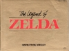 The Legend of Zelda Instruction Booklet