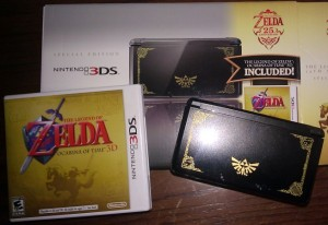 The Legend of Zelda 25th Anniversary 3DS