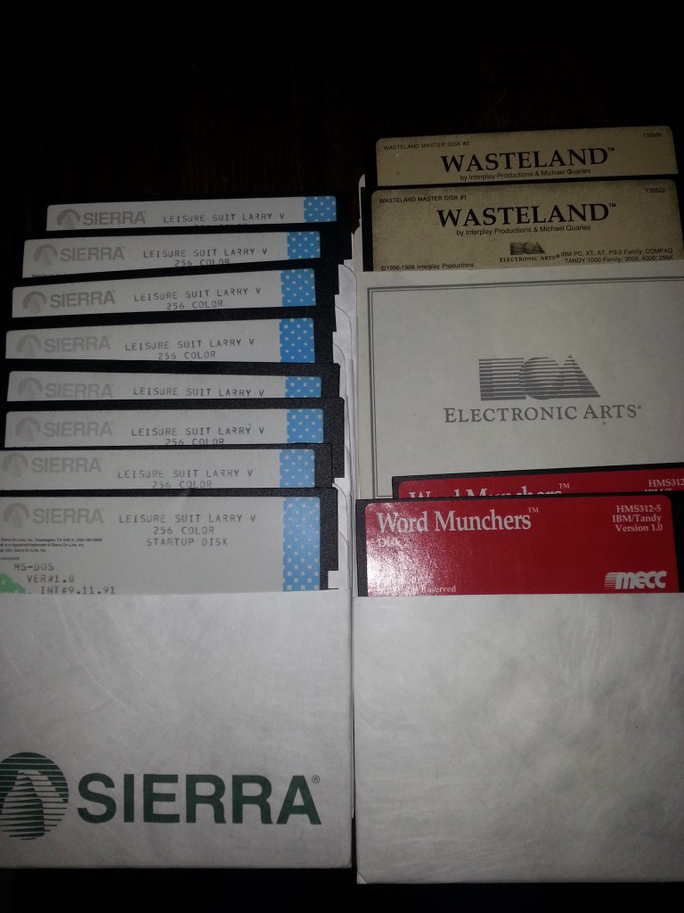 Old School Floppies