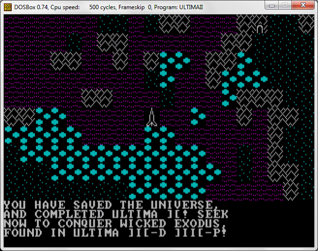 Ultima 2 The End
